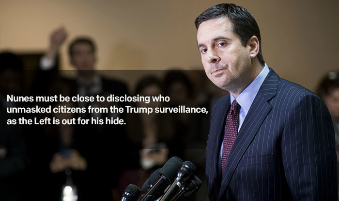 Nunes Must Be Close